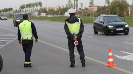 Another action on the road: Traffic Police monitors the use of alcohol and drugs image