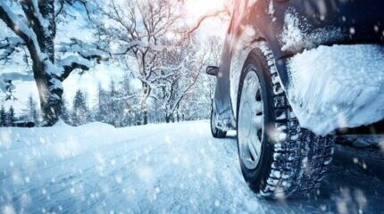 Safe driving during the winter season image