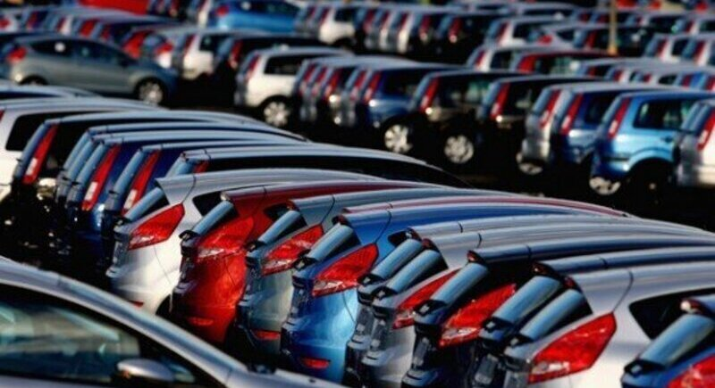 Decline in car sales in the European Union image