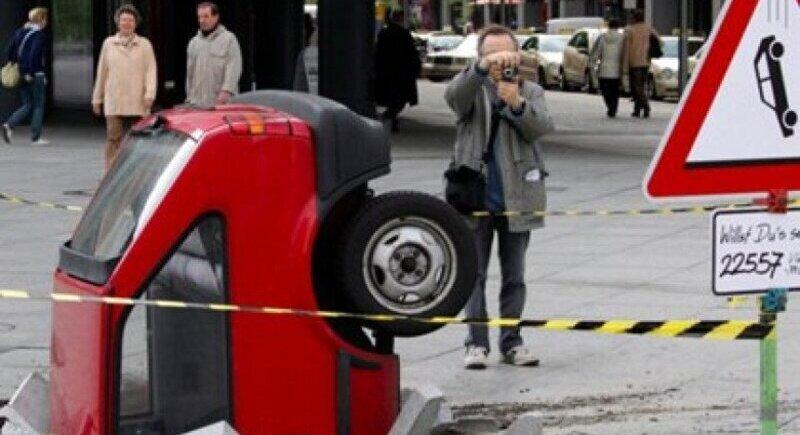 Най-нелепите случаи на катастрофи image