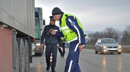 Специализирана полицейска операция ще се проверява товарните автомобили и автобусите image