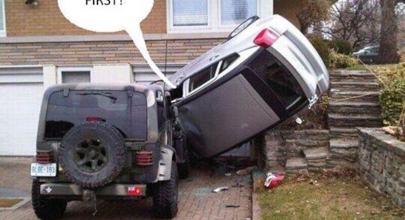 Едни от най-нелепите обяснения на шофьори след причинена катастрофа image