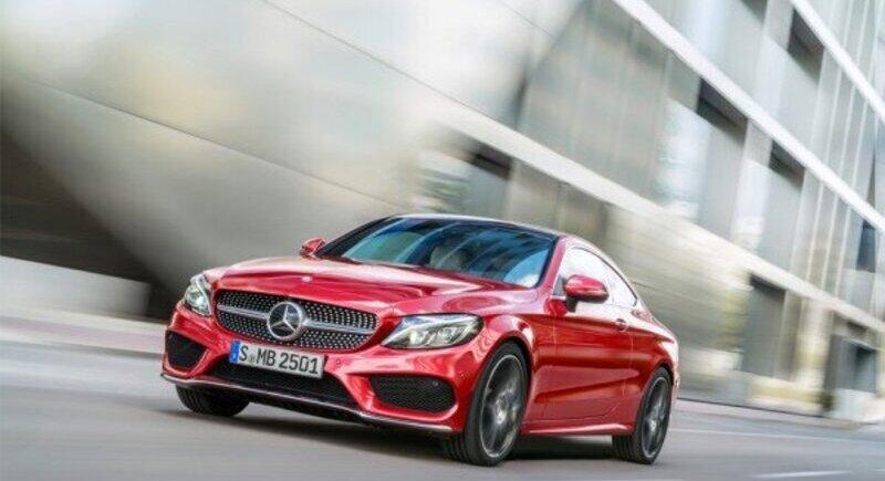 Mercedes-Benz C-Class Coupé е вълнуваща image