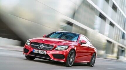 The Mercedes-Benz C-Class Coupé is exciting image