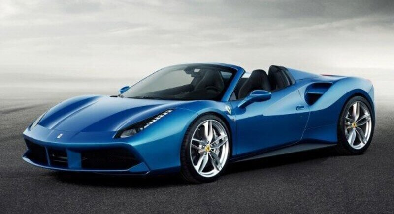 Ferrari's most powerful convertible with a V8 engine image