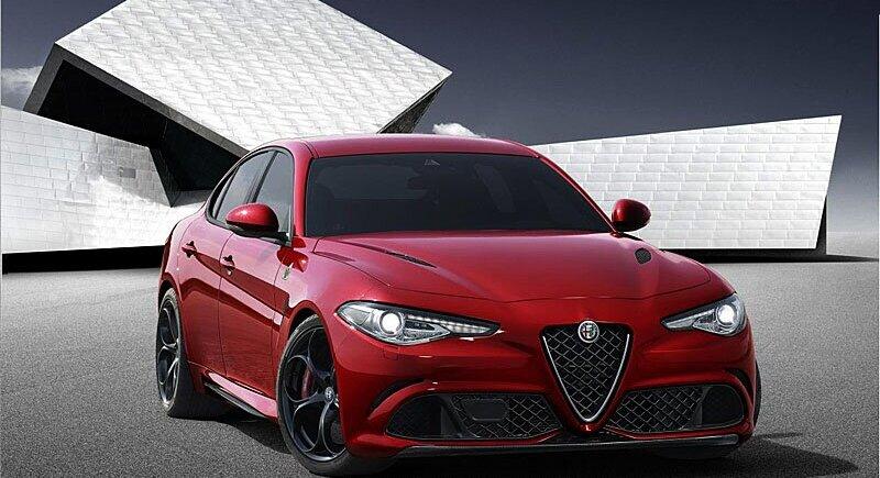 Alfa Romeo with the new Julia image