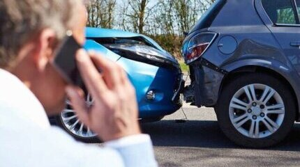 What to do if you are involved in an accident with property damage image