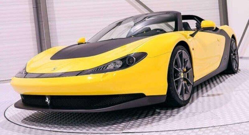 Доставен е първия суперавтомобил Sergio на Ferrari image