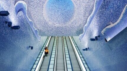 The most amazing metro stations in the world image