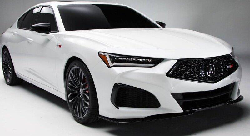 The new Acura model will compete with Ferrari image