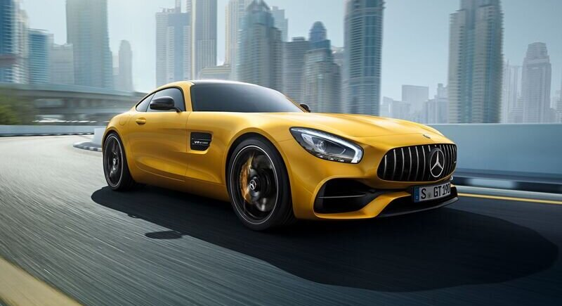 This is the new Mercedes AMG GT image
