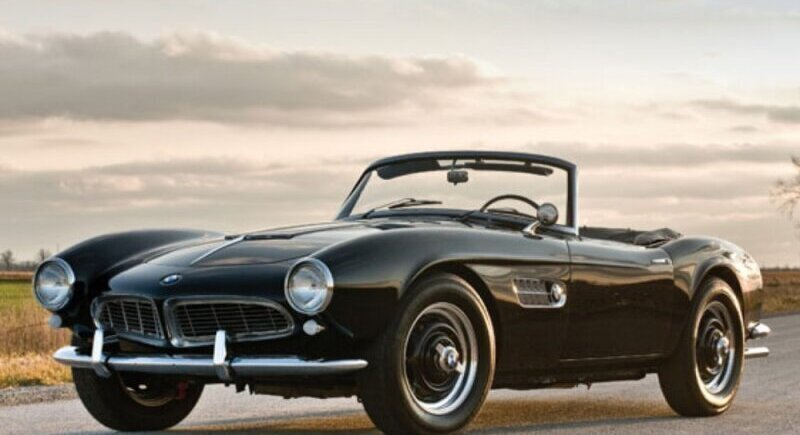 The sad story of a BMW 507 Roadster - the car of Elvis Presley image