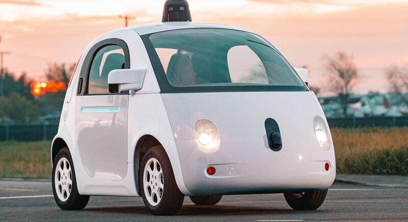Google makes a car without a steering wheel and pedals image