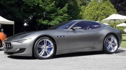This car represents the future of Maserati image
