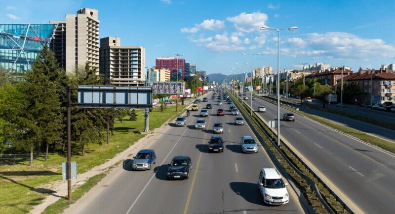 Five traffic jams blocked Sofia in March image