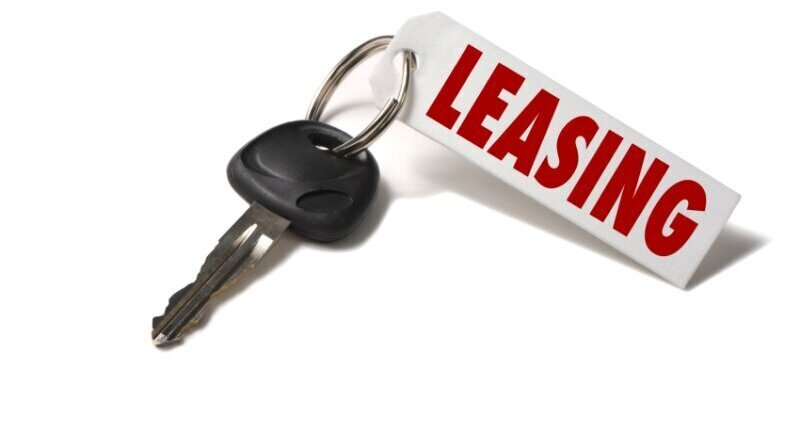 The leasing market - business almost half image