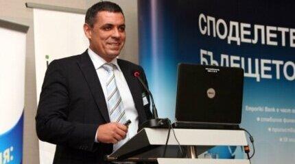 Nikolay Zdravkov - moderator of the conference