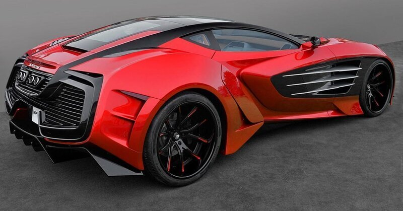 New unique hypercar with 1750 hp. image