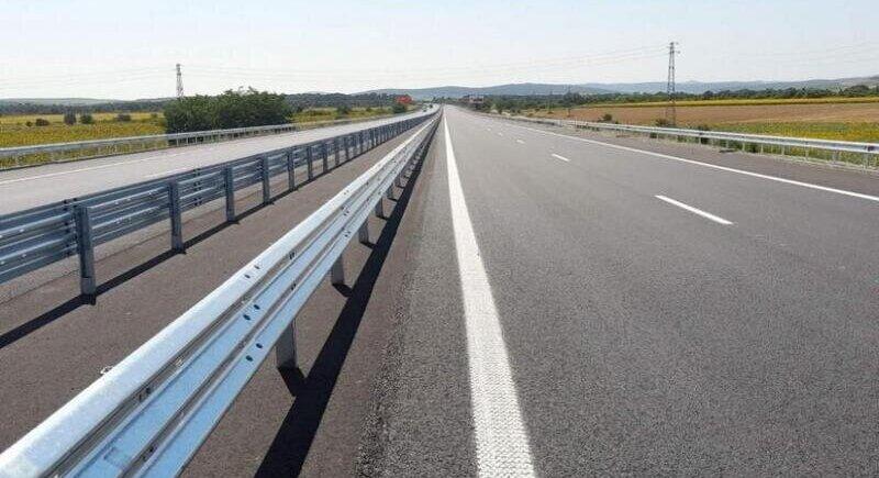 Completely finished Trakia highway opened image