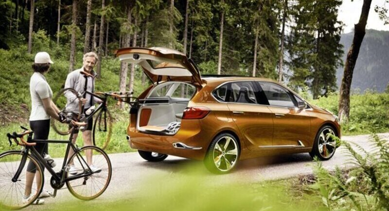 BMW showed a car for cyclists image