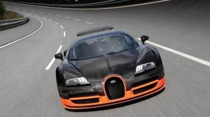 The 10 fastest cars in production image